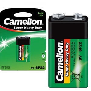 6F22-BP1 ΜΠΑΤΑΡΙΑ CAMELION SUPER HEAVY DUTY 9V CAMELION