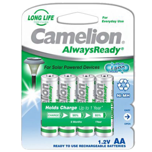 R06AA600mA-BP4 ΜΠΑΤΑΡΙΑ CAMELION ALWAYS READY AA