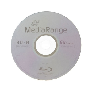 MediaRange BD-R Single Layer 25GB 6x Single Layer