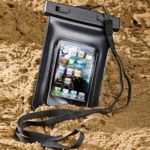 GOOBAY 42960 WATERPROOF CASE FOR IPHONE BLACK PLASTIC