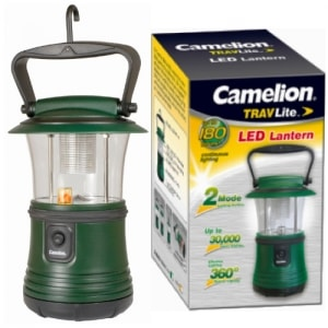 SL-1011CAMPING ΦΑΝΑΡΙ CAMELION LED ΜΕ 1W 70LM  CAMELION