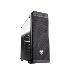 CC-COUGAR Case MX330-G Middle ATX Black Tempered Glass USB 3.0 MX330-G 5NC1