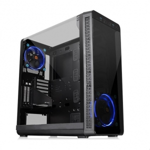 THERMALTAKE Case View 37 Riing Edition Middle ATX Black USB 3.0