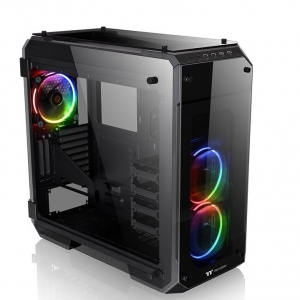 THERMALTAKE Case View 71 Tempered Glass RGB Full ATX Black USB 3.0