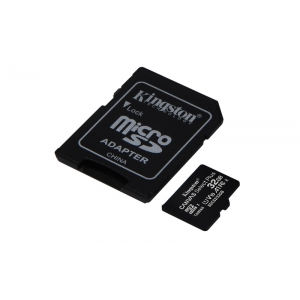 KINGSTON Memory Card MicroSD Canvas Select Plus SDCS2/32GB, Class 10, SD Adapter