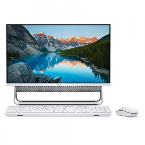 DELL All In One PC Inspiron 5490 23.8'' FHD/i5-10210U/8GB/256GB SSD + 1TB HDD/GeForce MX110 2GB/Win 10 Pro/2Y NBD/Vessel Stand/Silver-White