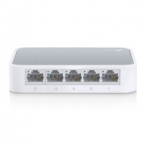 TP-LINK Switch TL-SF1005D, 5 port, 10/100 Mbps