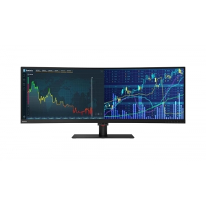 LENOVO Monitor Thinkvision P44w-10 43.4'' VA Antiglare, UHD, HDMi, Display Port, USB hub