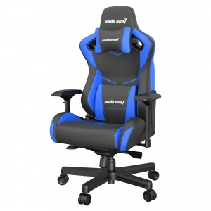 ANDA SEAT Gaming Chair AD12XL KAISER-II Black-Blue AD12XL-07-BS-PV-S01