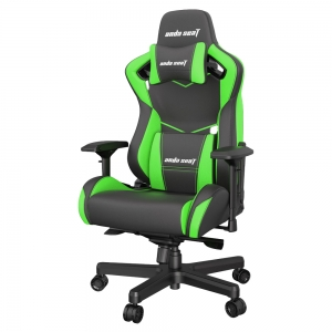 ANDA SEAT Gaming Chair AD12XL KAISER-II Black-Green AD12XL-07-BE-PV-E01