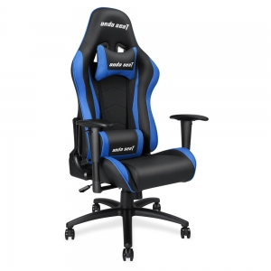ANDA SEAT Gaming Chair Axe Black-Blue AD5-01-BS-PV