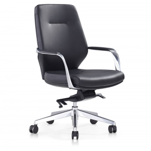 VERO OFFICE Chair AEGLI Black Low Back OCF1711BBK