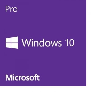 MICROSOFT Windows Pro 10, 64bit, English, DSP [FQC-08929]