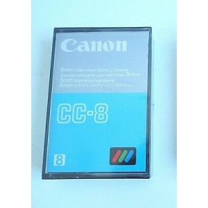 CANON CC8 8mm video Head Cleaning Cassette