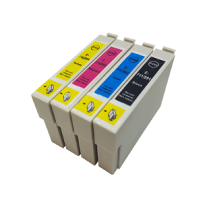 EPSON SET  T0711-T0712-T0713-T0714 Ink 13ml (Black,Blue,Yellow,Magenta)