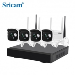 Sricam NVR NVS001 4-Channel 1MP HD IP - 720P